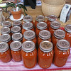 The final result! 4.25 gallons of primarily organic tomato sauce.