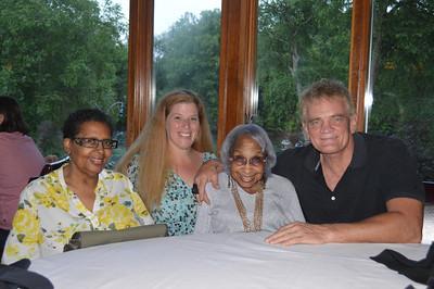 Estelle Miller 88th birthday, 052314 9080