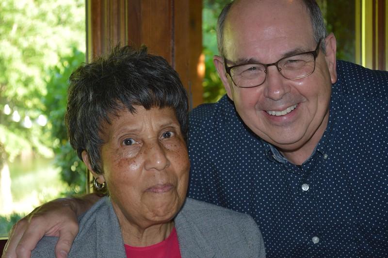 Sister Hutchinson & Don Spruill