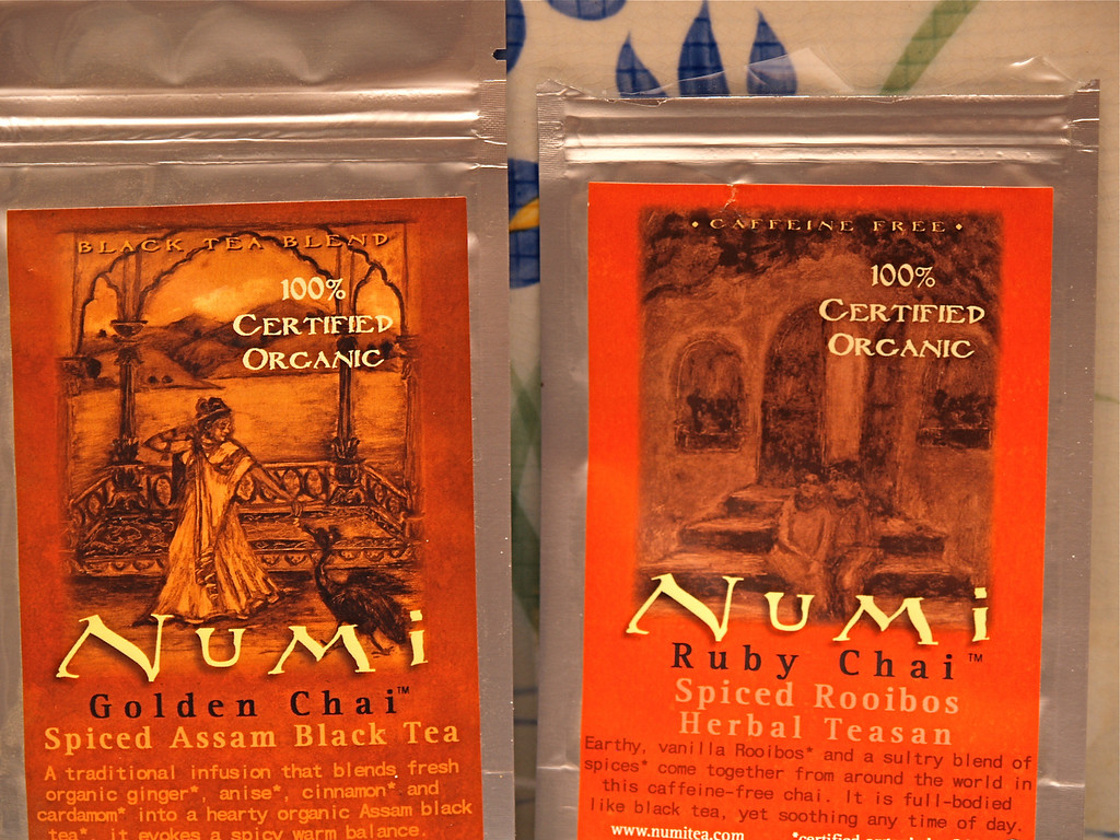 Numi Golden and Ruby Chai