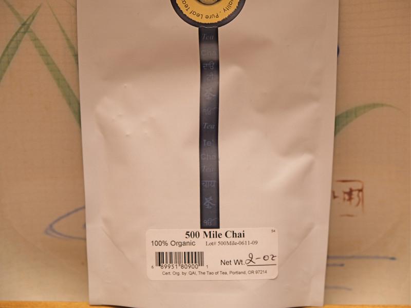 Tao of Tea 500 Mile Chai