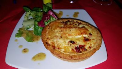 Brie & Cranberry Tart