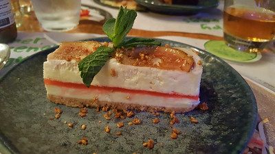 Coconut & Fig Cheesecake