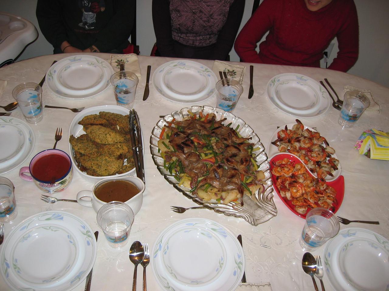 2005 Christmas Dinner