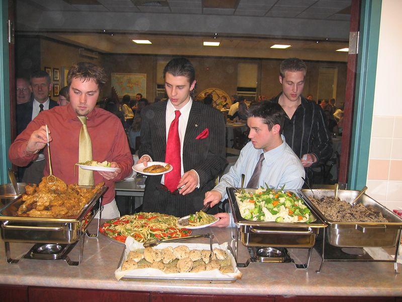 Institute Graduation Night - Dinner for 100+