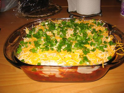 4-Layer Tortilla Dip