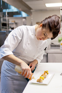 Chef in the kitchen at WP24