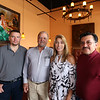 Herradura Vieja Restaurante Mexicano, new Mexican restaurant on Summer Street in Chelmsford. From left, owner Ramon Bravo of Nashua, designer/manager Tony Moreira of Merrimack, N.H., Lisa Marrone of Leominster, director of business development for the town of Chelmsford, and owner Guillermo Bravo of Nashua (Ramon's brother). (SUN/Julia Malakie)