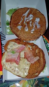 Jamaican Chicken Burger
