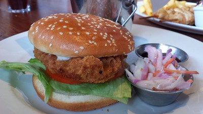 Southern Fried Chicken Mayo Burger