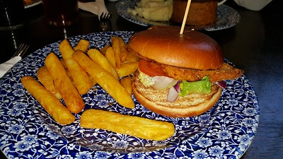 Buttermilk Chicken Burger & Chips