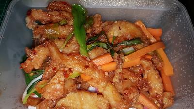 Shredded Chilli Chicken