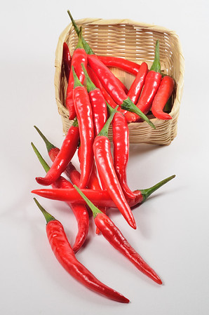 Red Chili Basket
