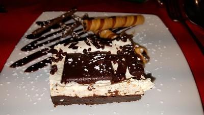 Chocolate & Mint Truffle Squar