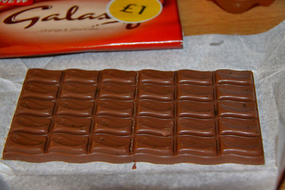 Galaxy Chocolate with Orange & Shortcake 27/06/11
