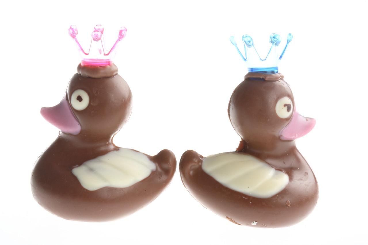 Chocolate Easter ducks