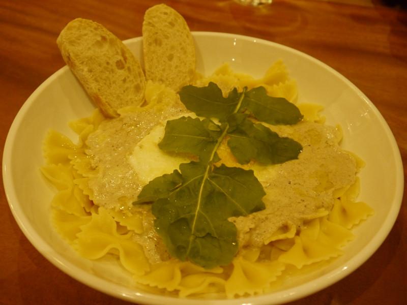 Truffle cream with mushroom