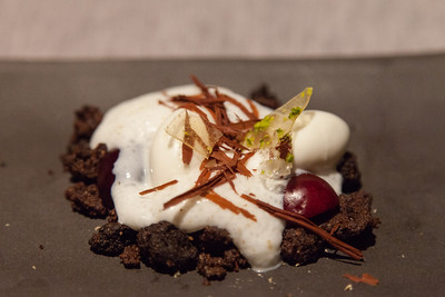 Chocolate - GOAT - cherries