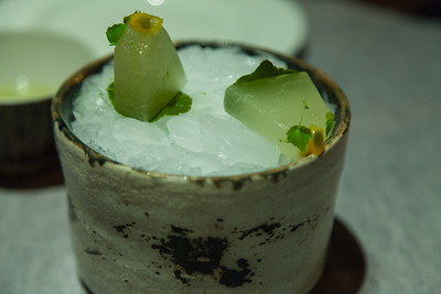 "Mellon, ""MANZANILLA"", mint & LIME"