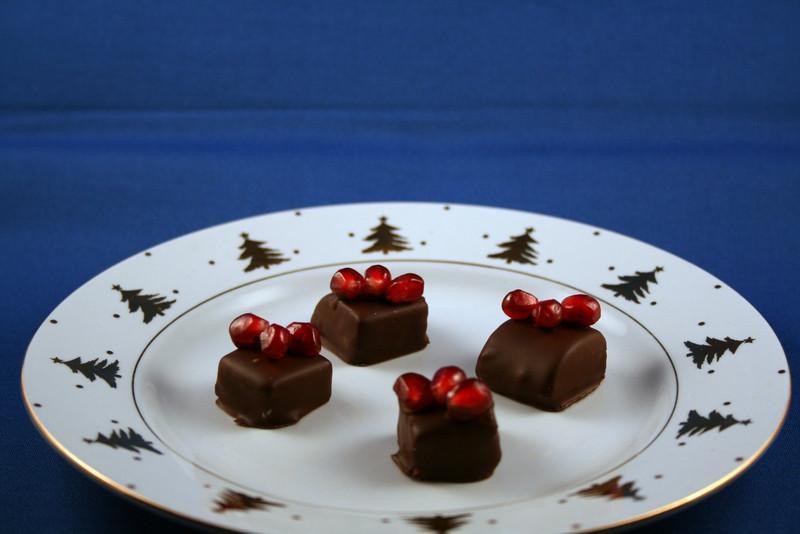 Pomegranate chocolates, 5 Jan 2008