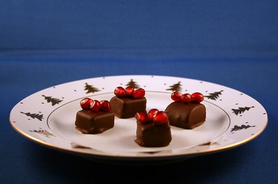 Pomegranate chocolates, 5 Jan 2008