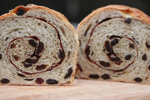 #9 Cinnamon raisin bread