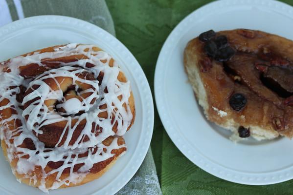 #8 Cinnamon buns and sticky buns
