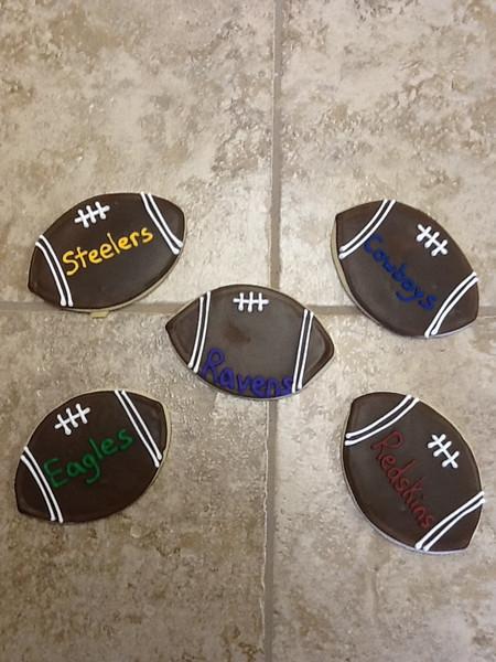 Football Team Cookies