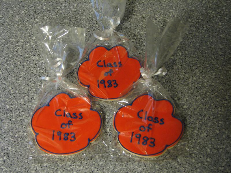 Class Reunion Cookies