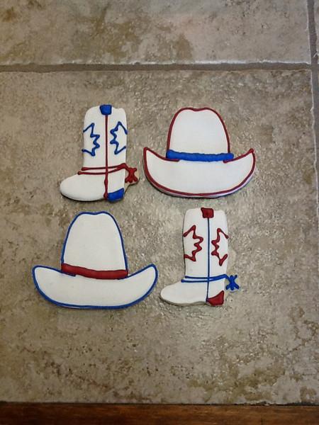 Western Themed Sugar Cookies