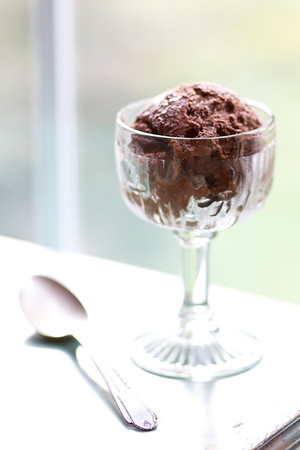 Chocolate Coconut Sorbet