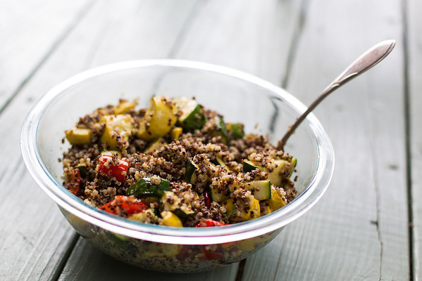 Grilled Vegetable Quinoa Salad