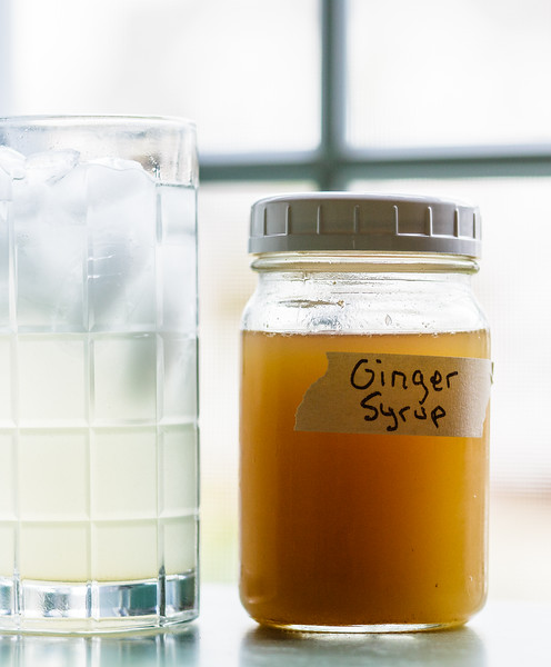 Homemade Ginger Syrup - makes the best Ginger Ale!!!  Also use it for cocktails!