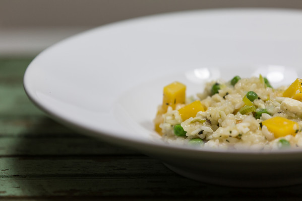 Baked Risotto with Butternut Squash and Feta