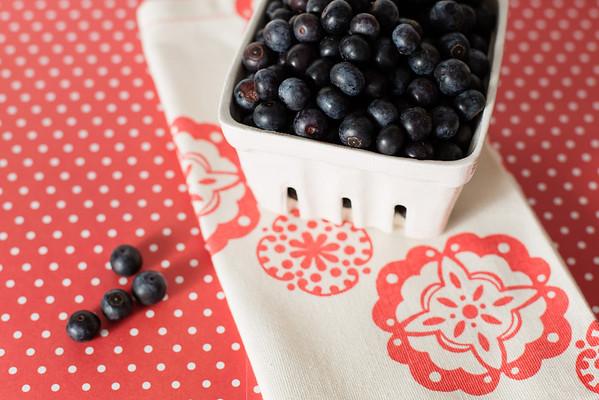 Blueberries for blueberry vinegar!