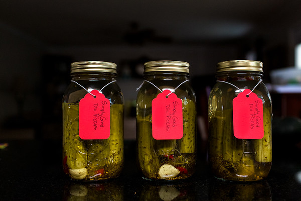 Simply Good dill pickles - these are simply delicious!