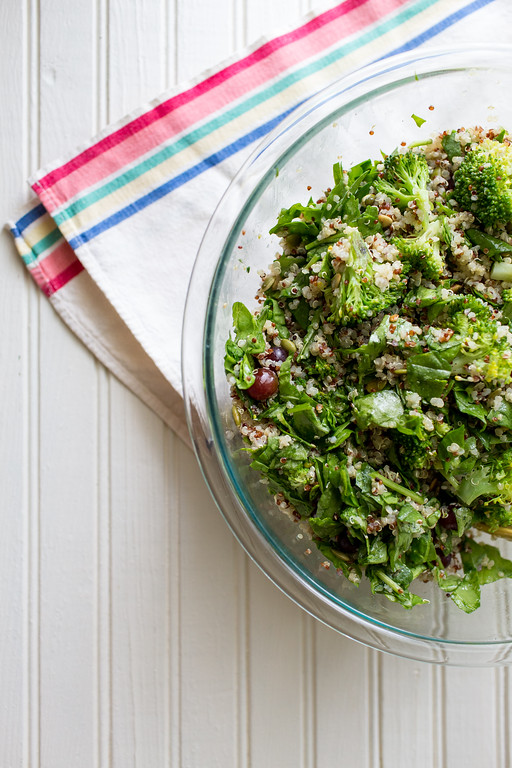 Bowl of Broccoli Salad