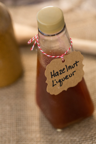Homemade Hazelnut Liqueur so easy and delicious!