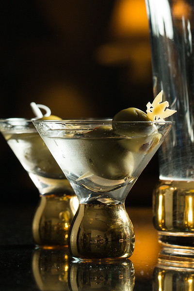 His and Her Martinis for #PartyLikeAMadman