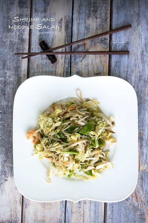 Shrimp and Noodle Salad with Asian Vinaigrette