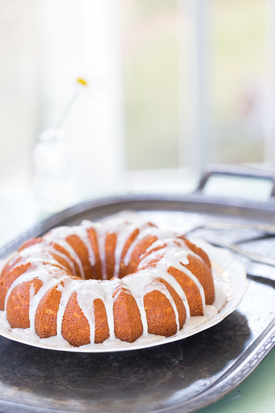 Lemon Yogurt Bundt Cake with Limoncello Glaze #BundtBakers