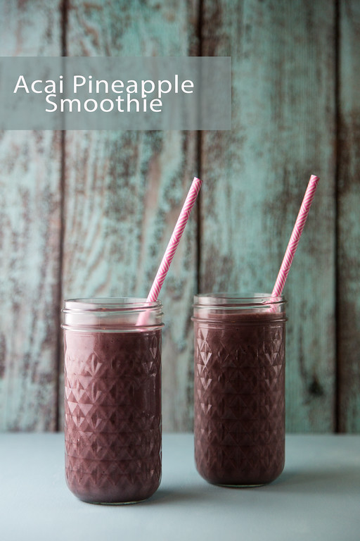 Acai Pineapple Smoothie