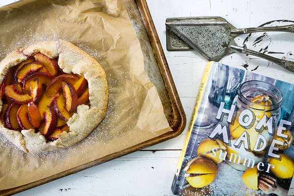 Rustic Peach Tart from Home Made Summer