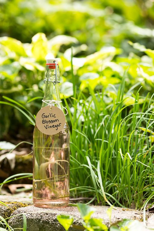 Garlic Blossom Vinegar