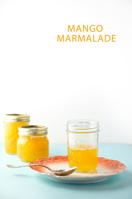 Mango Marmalade - mangoes and lemon!