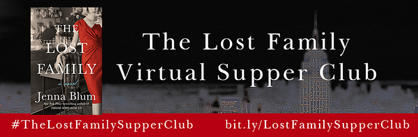 The Lost Family Virtual Supper Club