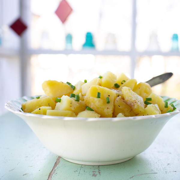 Bowl of French Potato Salad