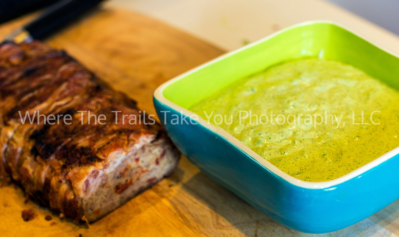 13  Pancetta-Wrapped Turkey Meatloaf and Arugula Mayo