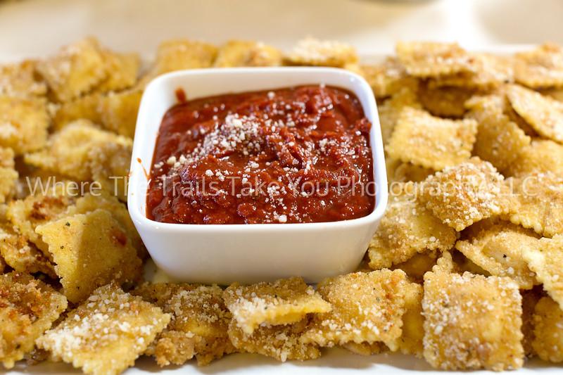 78  Fried Ravioli and Marinara Sauce