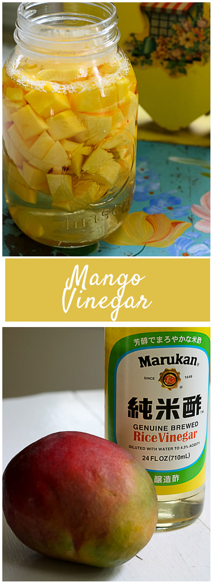 Homemade Mango Vinegar - so easy!!
